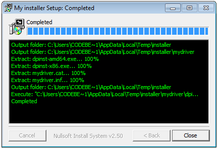 My_installer_completed