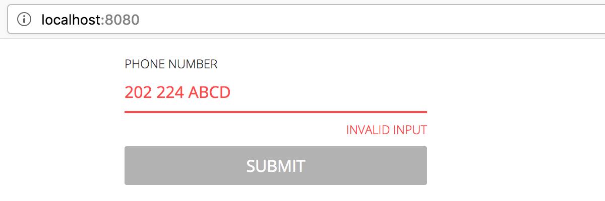 proper input validation