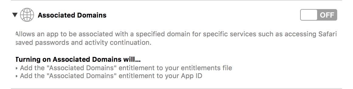 Associated domains