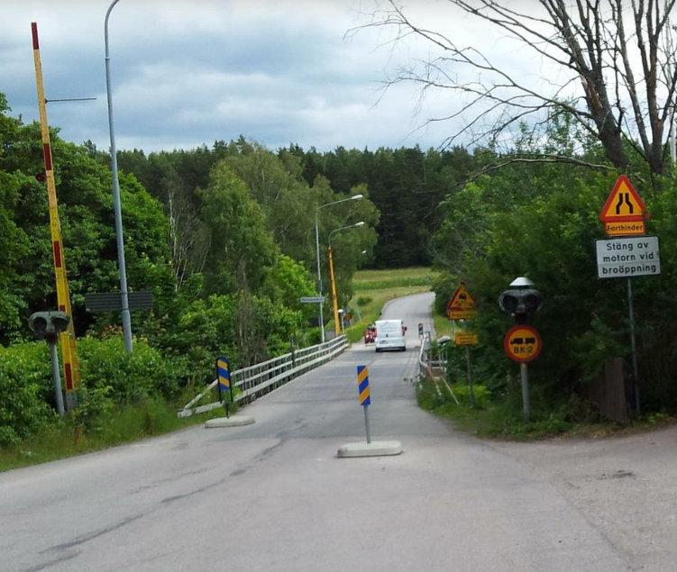 Flottsundsbron Mapillary Strassenbild