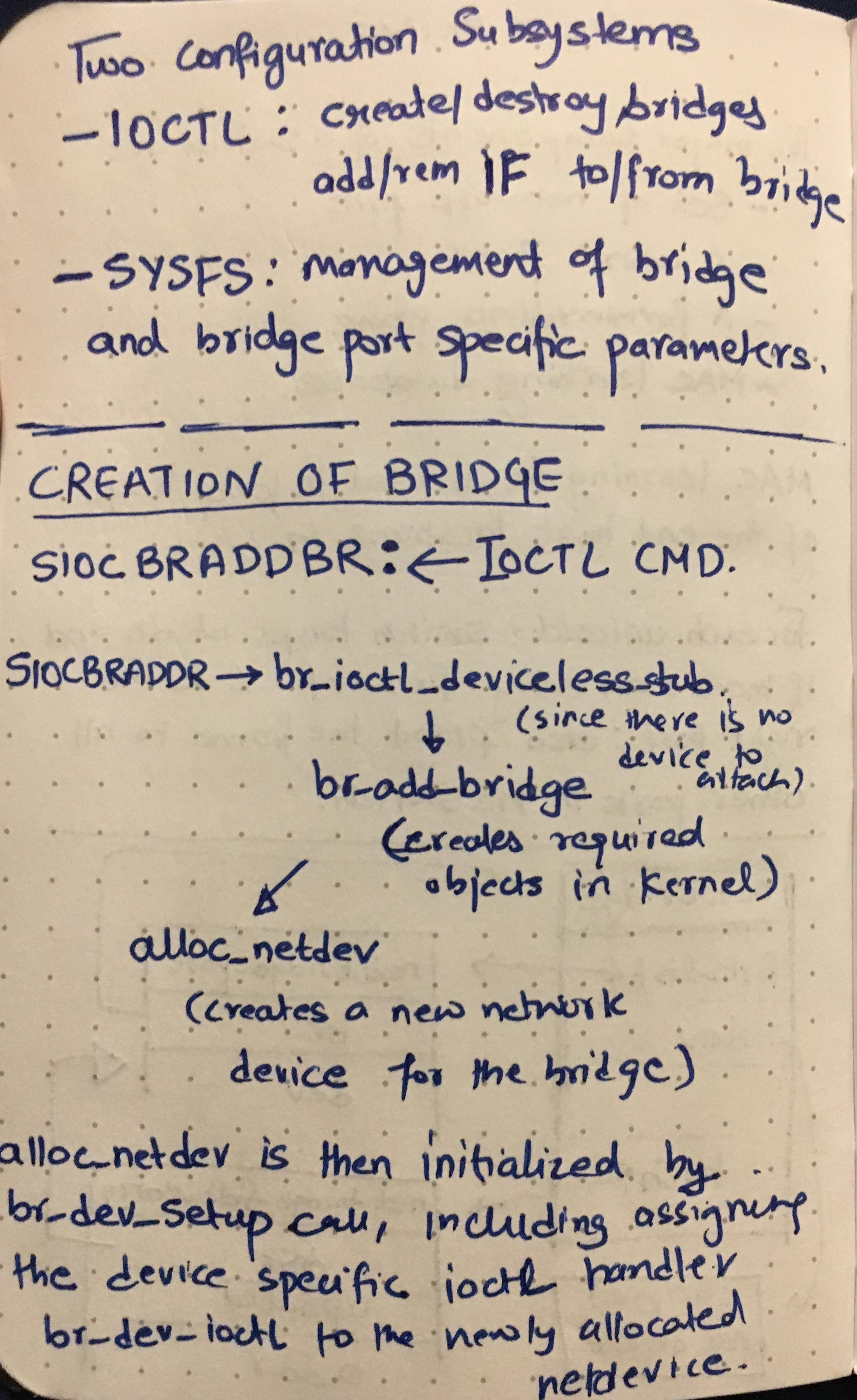 Linux Bridge 1
