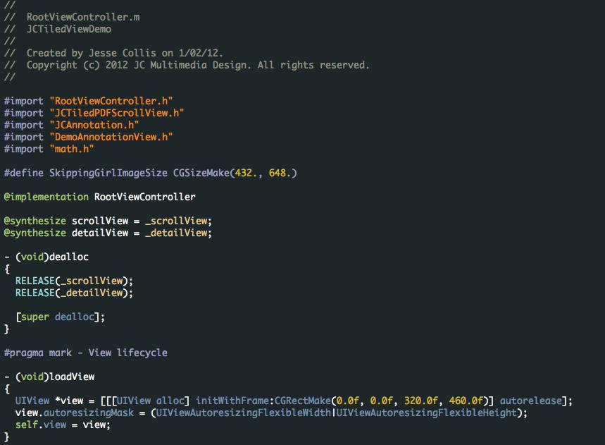 Obsidian Code' Xcode Theme