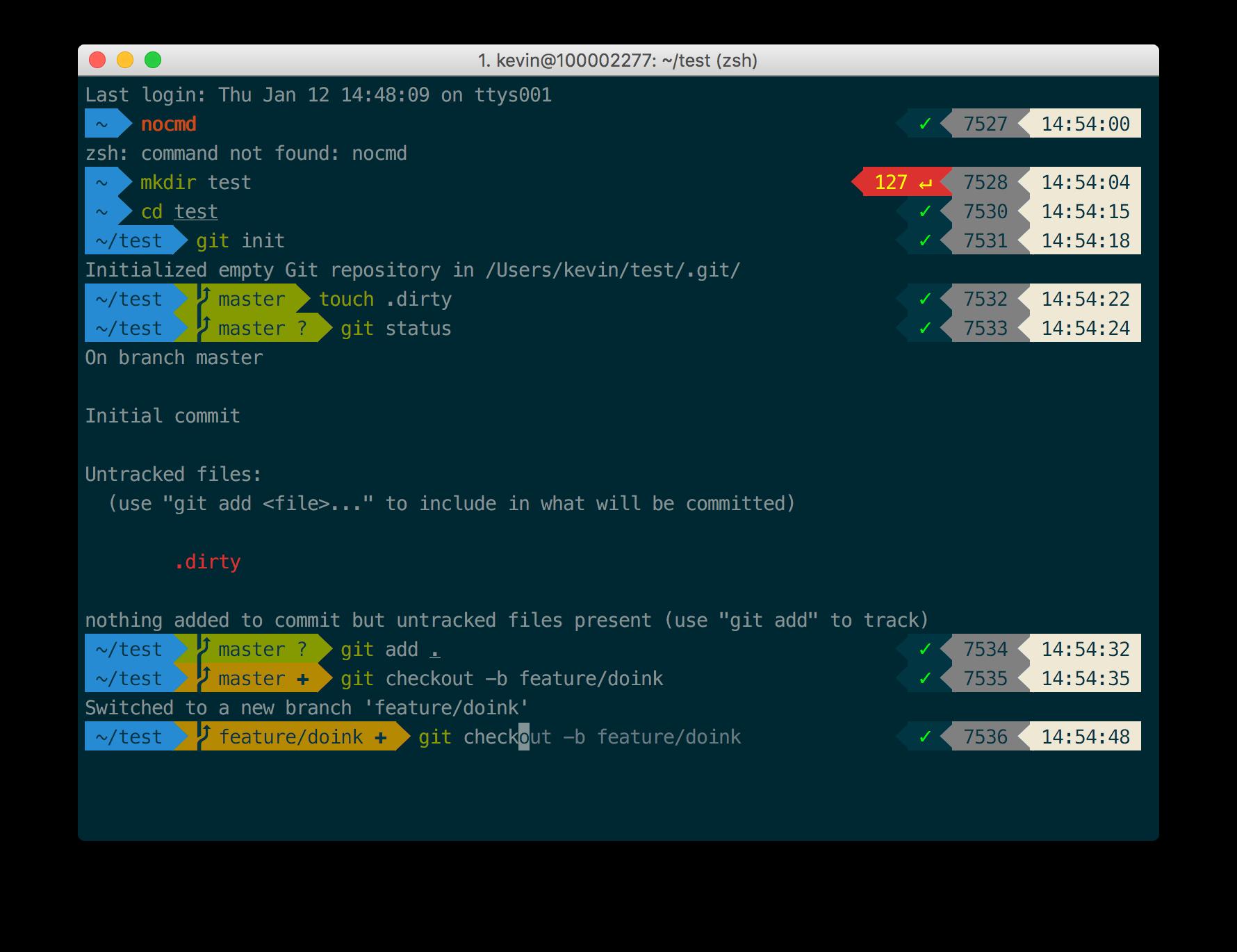 iTerm2 + Oh My Zsh + Solarized color scheme + Meslo powerline font + [Powerlevel9k]