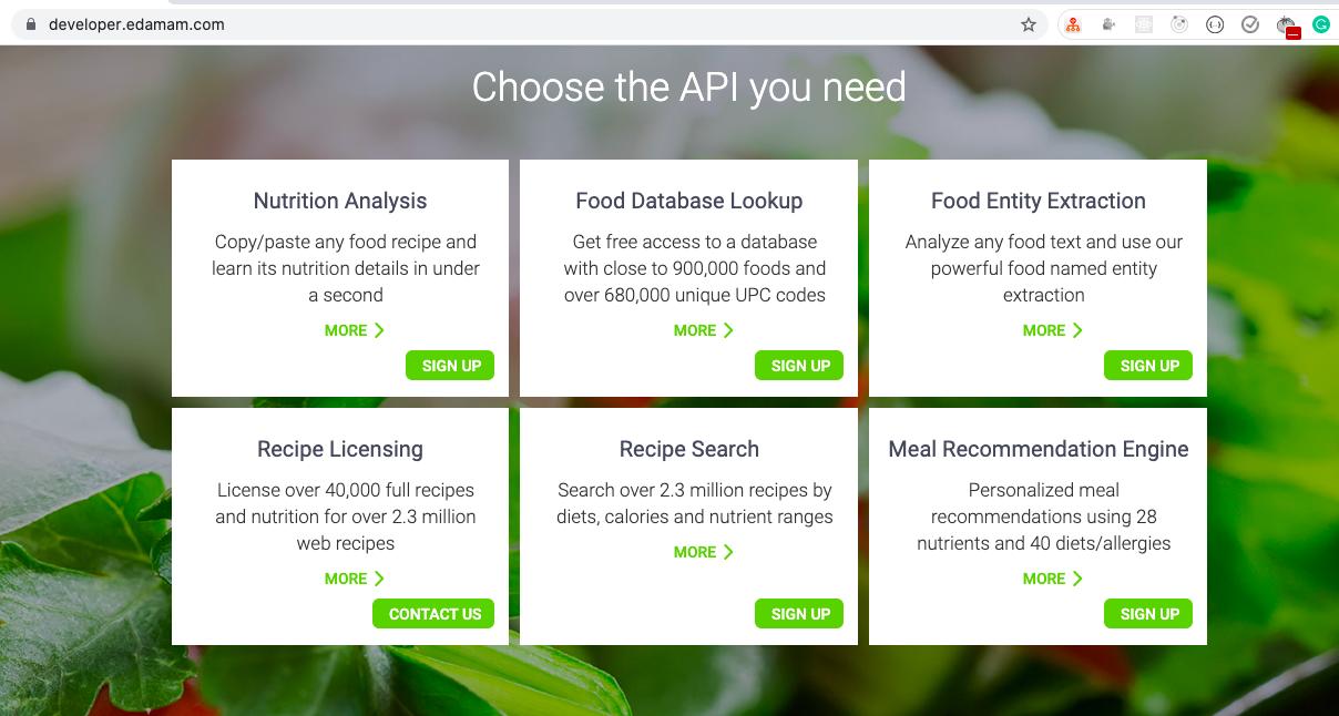 Recipe API