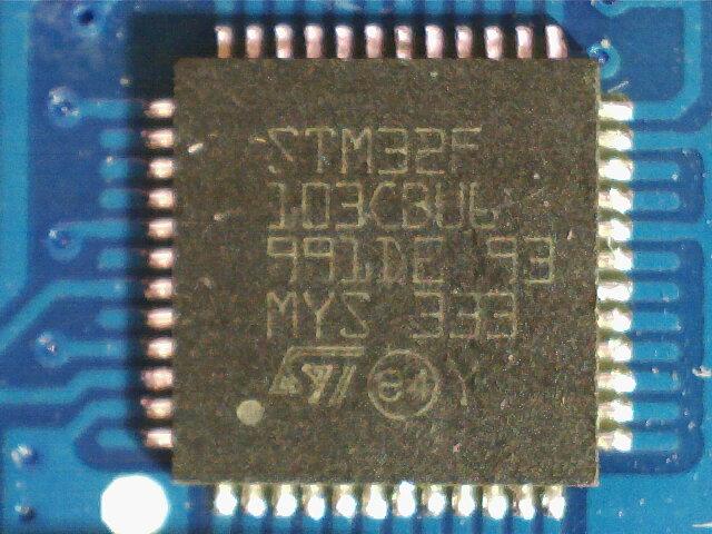 STM32F103CBU6 microcontroller