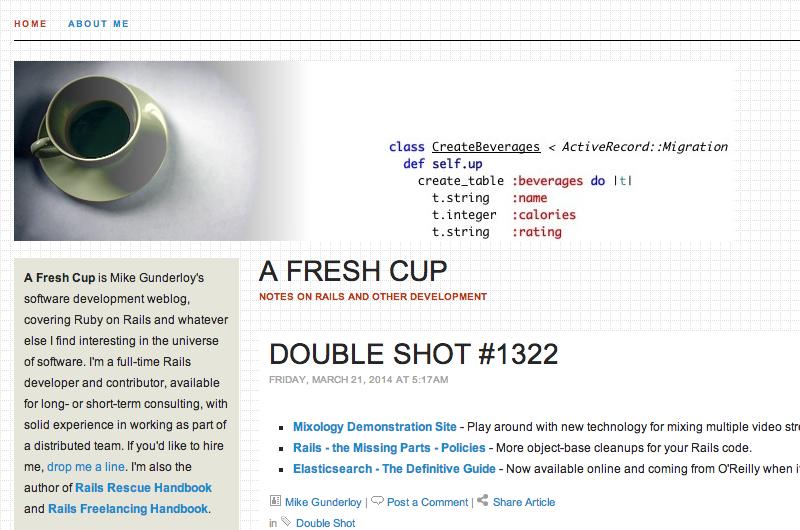A Fresh Cup